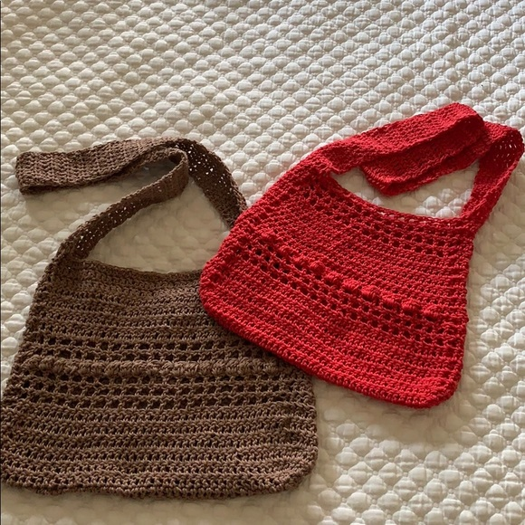 outlet store sale online here huge sale Boho Hemp Crochet Bag